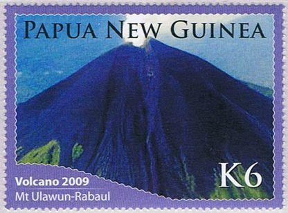 Papua New Guinea 2009, Ulawun Volcano.