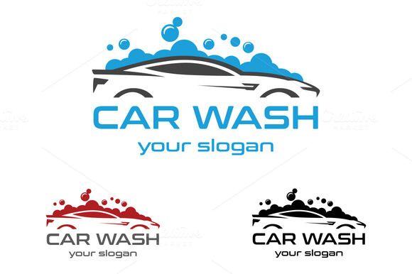 Car Wash Logo By Aykutfiliz On Creativemarket Graphic Logo Car