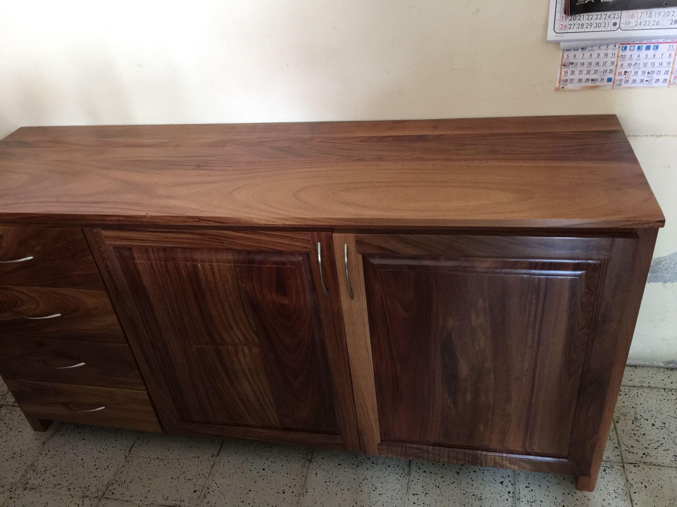 Mueble en madera de parota puertas langarica pinterest for Mueble 6 puertas