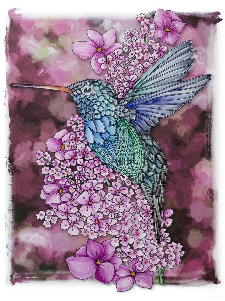 From Georgie Woolridge Book Birds Colored With Intense Blocks Bird Art Cool Artwork Art
