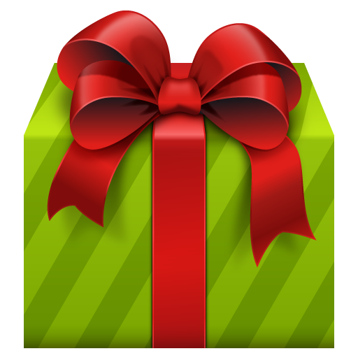 Large Gift Box with Red Bow PNG Clipart Image | ~*♣️Gift boxes ...