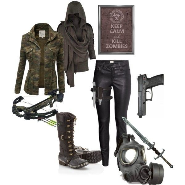 marvelous zombie apocalypse girl outfit full