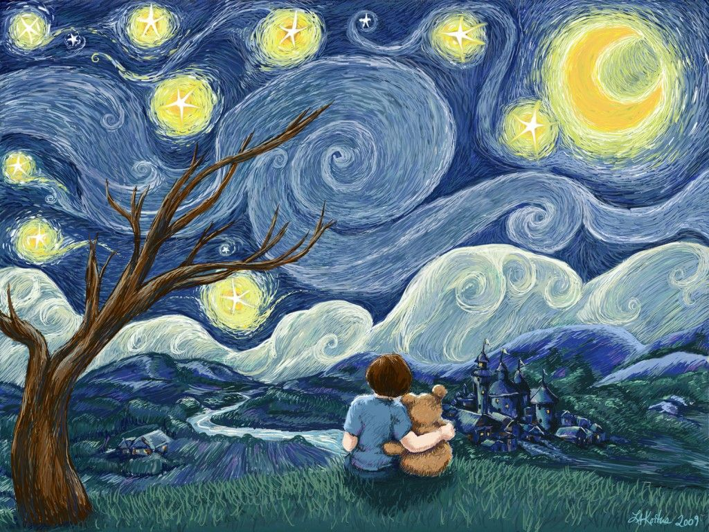 visual analysis of starry night Starry night is perhaps the most visually stunning of van gogh's work, here i analyse the painting, looking at the composition, and van gogh's situation.