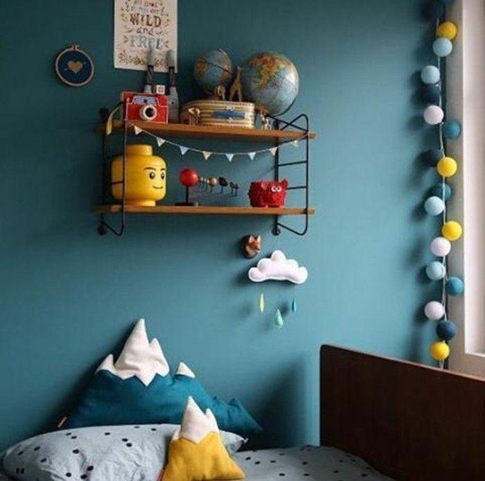 Deco Chambre Garcon Bleu AO85 | Jornalagora