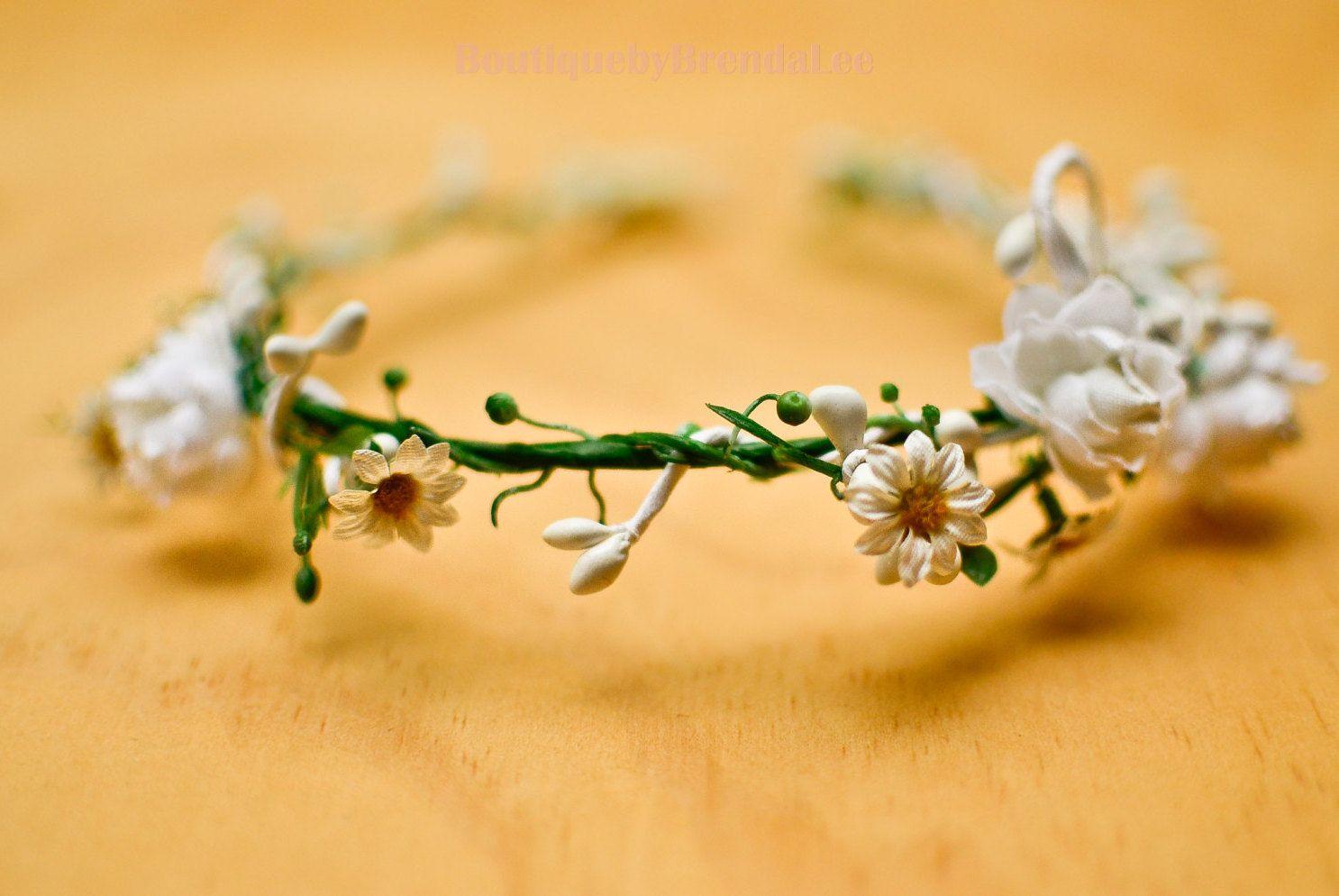 Boho yellow floral crown brenda lee floral crown and flower izmirmasajfo Gallery