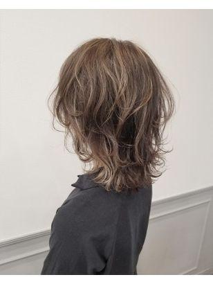 2020年冬 ミディアム ウルフの髪型 ヘアアレンジ 人気順 7ページ目 ホットペッパービューティー ヘアスタイル ヘアカタログ レイヤーカットヘア ミディアムシャグヘアカット 髪型 ミディアム パーマ