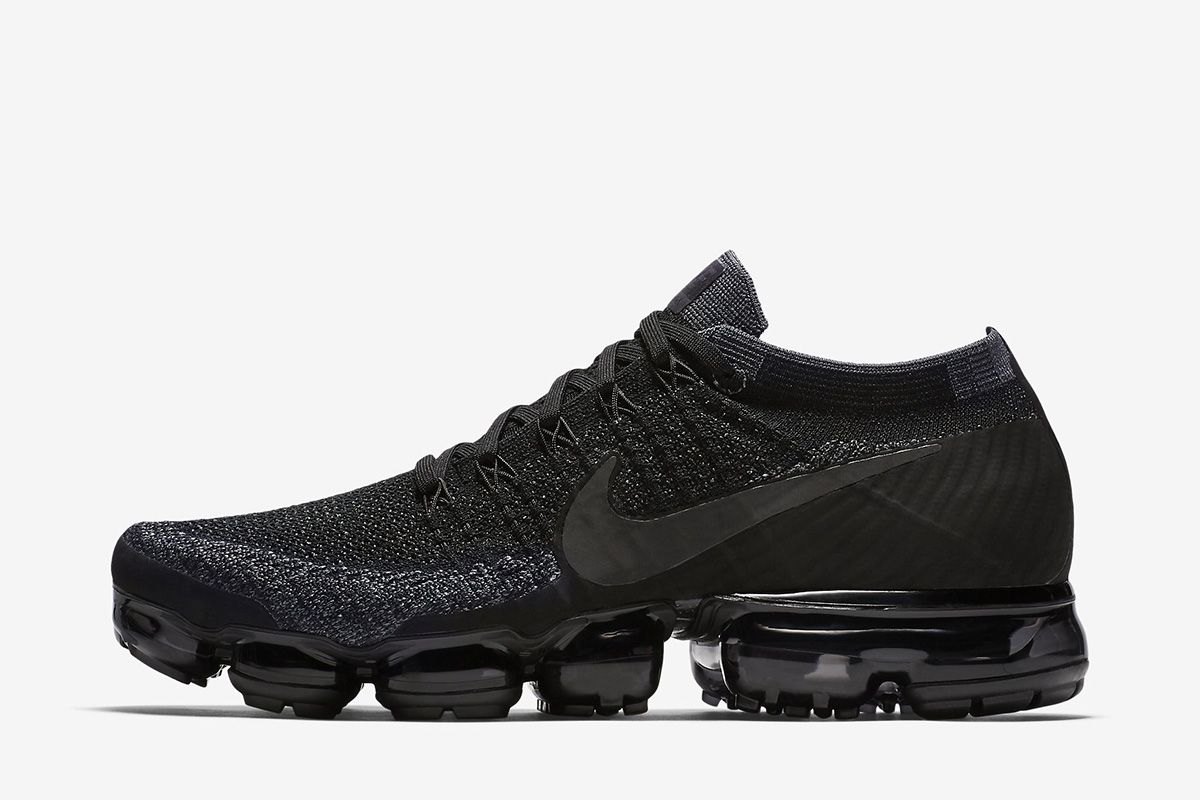 db40581dea8 NikeLab Air VaporMax Flyknit  Triple Black  - EU Kicks  Sneaker Magazine