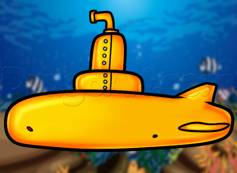 How To Draw A Submarine Vbs 2016 Underwater Sea