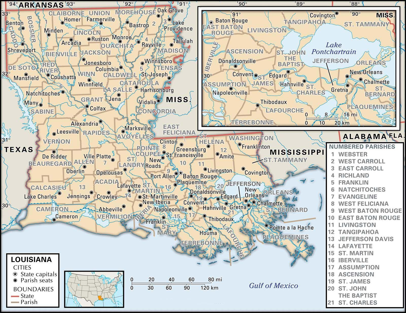 Parish Map Of Louisiana Genealogy Louisiana Pinterest - Lousiana state map