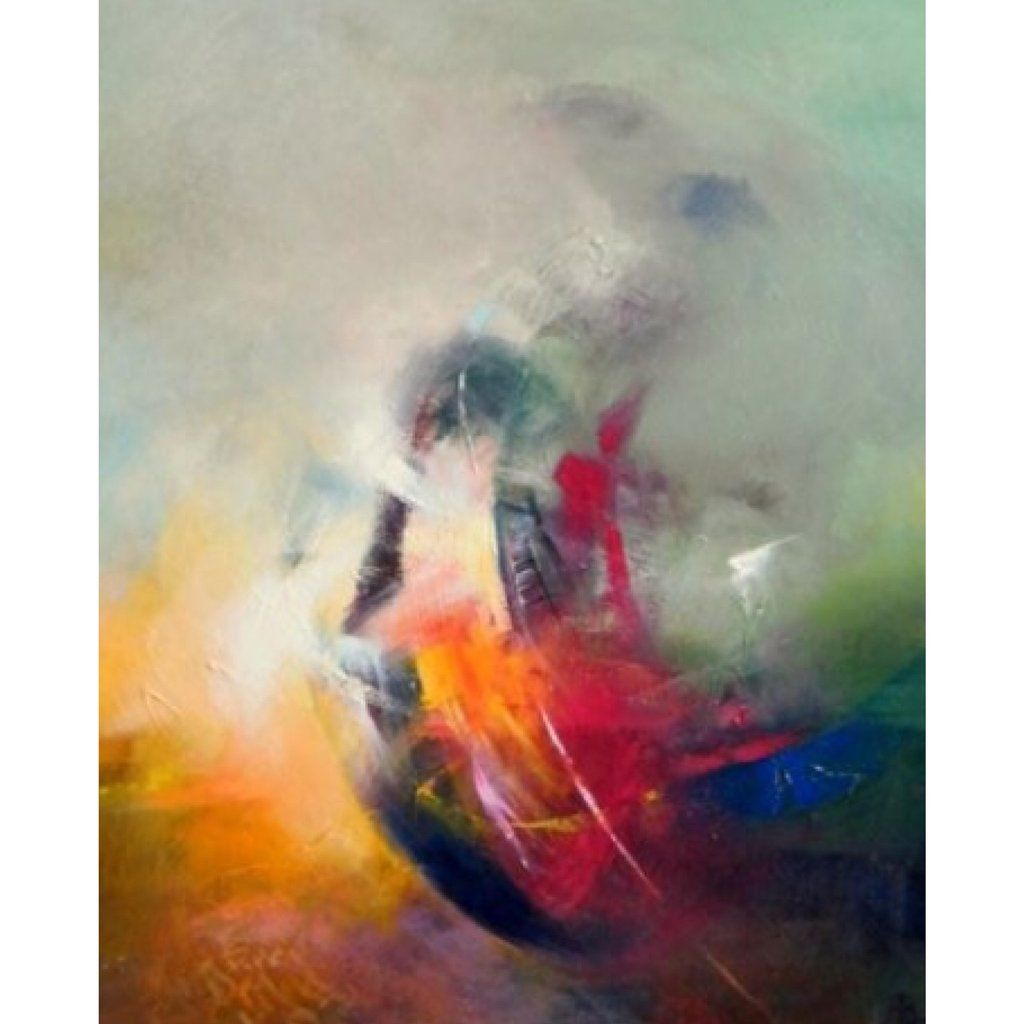 Higher power abstract painting print painting