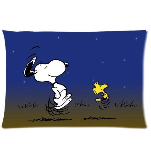 Custom Cute Snoopy Pillowcase