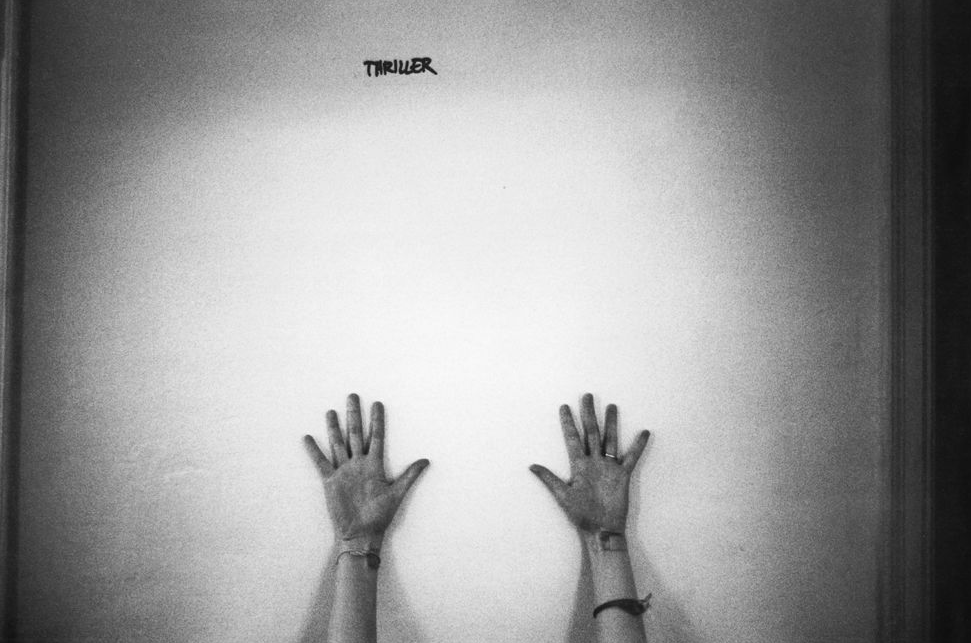 patricialeesmith:  patti's hands, photo by michael stipe.