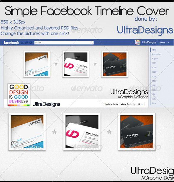 Simple Facebook Timeline Cover