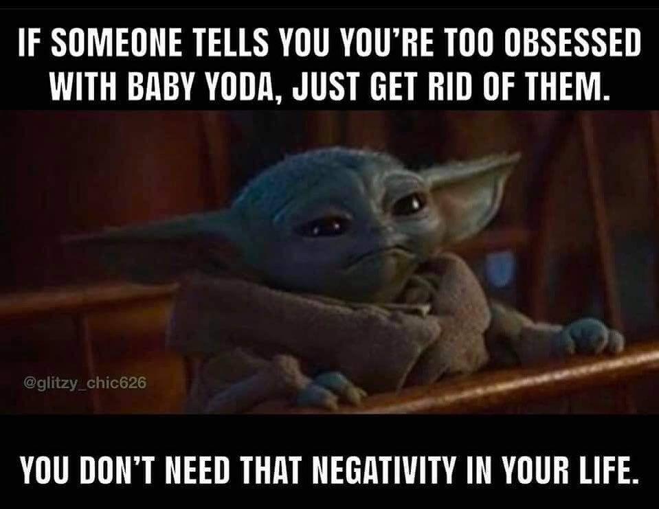 The Real Baby Yoda On Instagram Byeee In 2020 Yoda Funny Yoda Meme Funny Memes