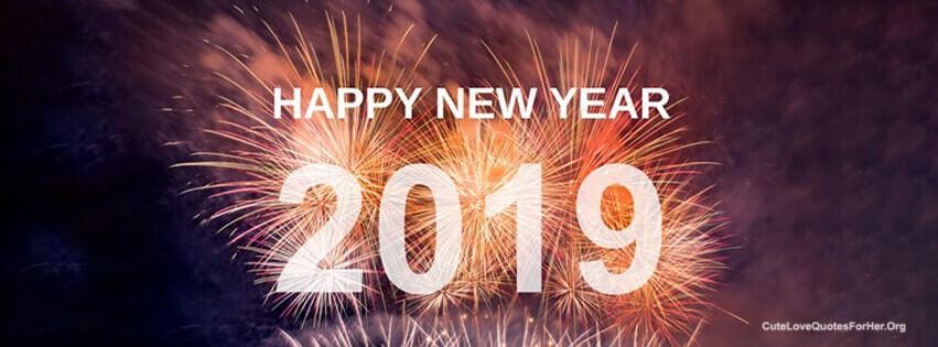 celebration new year 2019 facebook cover hd