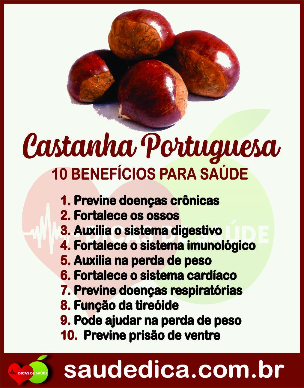 Os 20 Beneficios Da Castanha Portuguesa Para Saude Nutricao