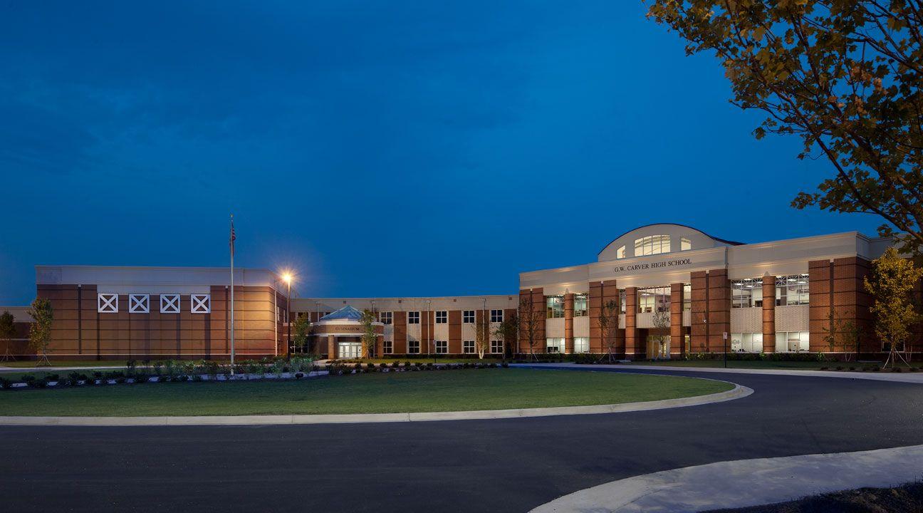 Gw Carver High School In Columbus Ga Design By Garner Spencer