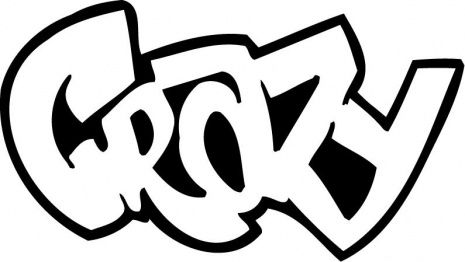 Crazy Graffiti CoLoring Graffiti Pinterest Graffiti