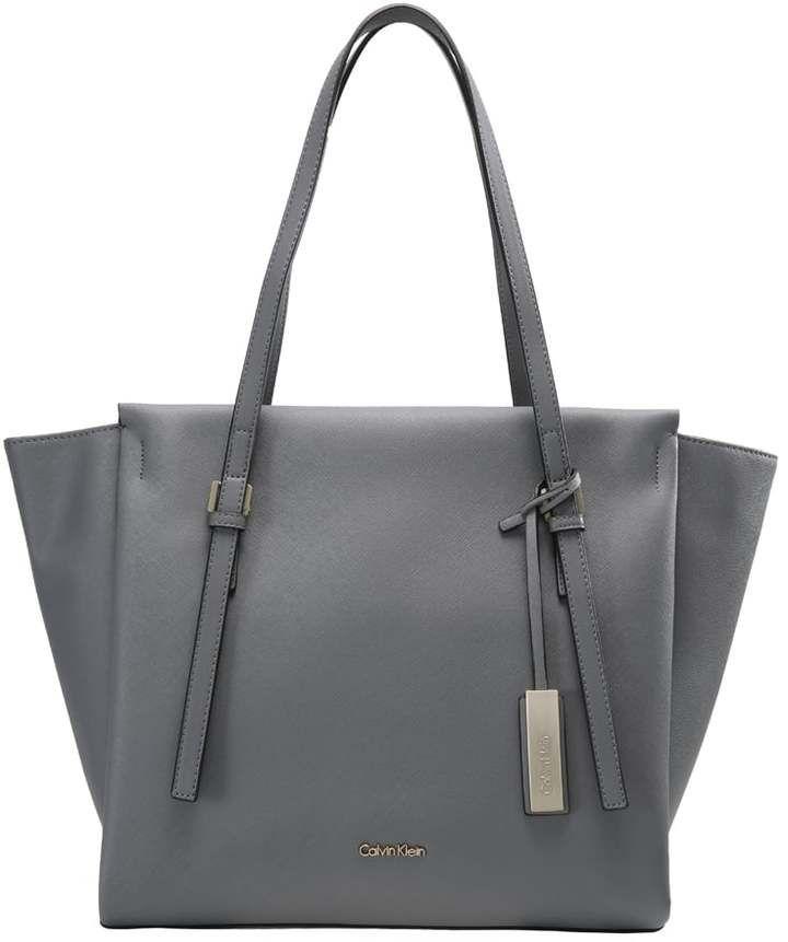 9f73715612 Calvin Klein M4RISSA Cabas steel grey