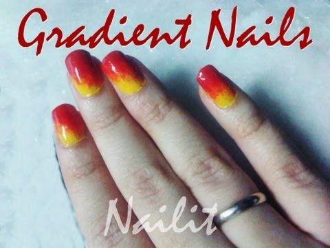 Easiest Nail Art Tutorial Hd Gradient Nails Without Sponge Hd Simple