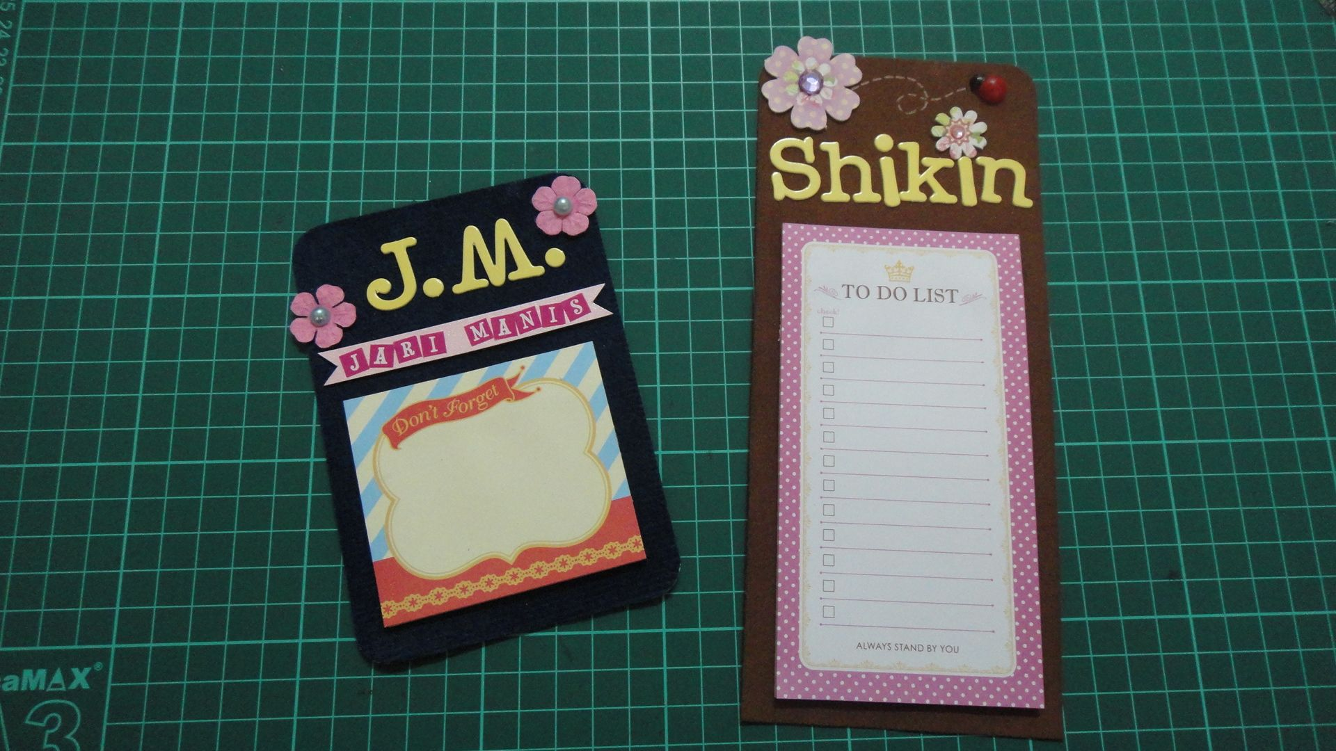 Diy Fridge Magnets Using Magnet Sheet And Sticky Notes Paper Craft Projects Greeting Cards Handmade Paper Crafts