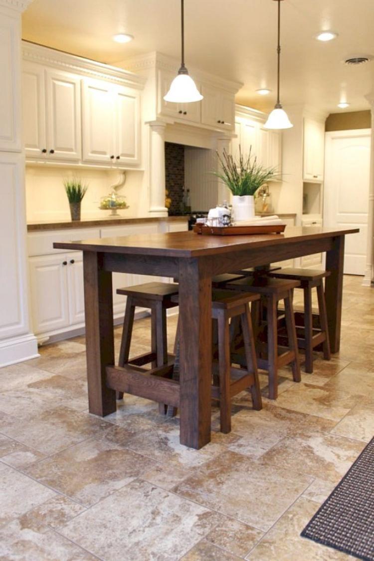 farmhouse kitchen island table