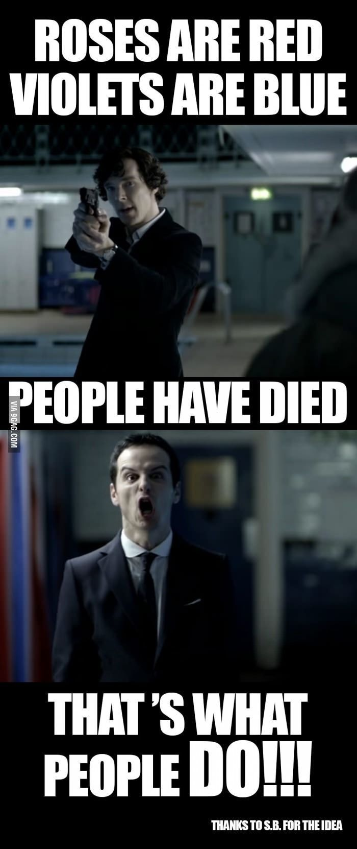 Oh Moriarty...XD