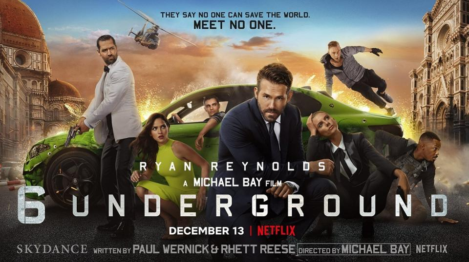 Review Michael Bay And Ryan Reynolds 6 Underground Is Another Lousy Netflix Blockbuster Michael Bay Action Movies Underground Film