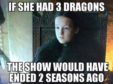 If Lyanna Mormont has dragons...