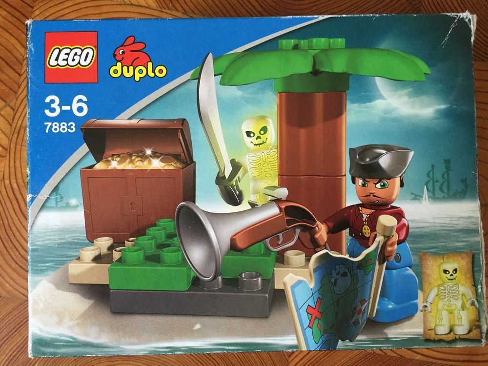 lego duplo 7883 pirate treasure island