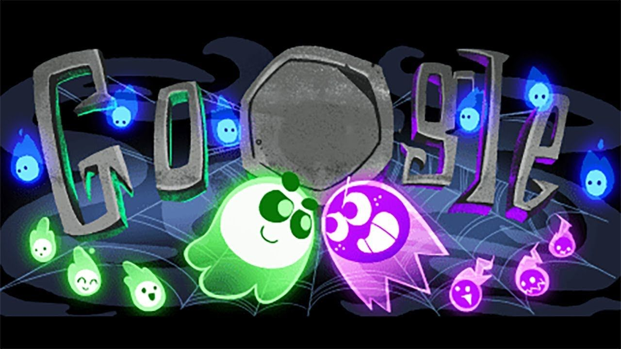 Google Компания in 2020 Google doodles, Halloween