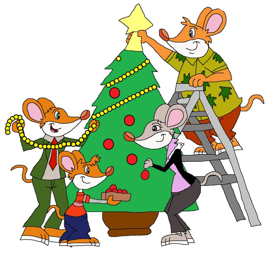 Decorating the Christmas Tree by HunterxColleen on Clipart