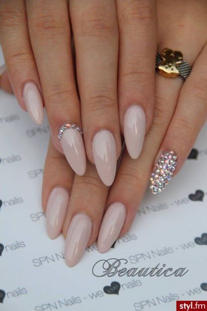 Perfection Minus The Junk Nail Perfect Length Color N Shape This Is My Always So Cly And Elegant Even A Little Longer Like Mine Are