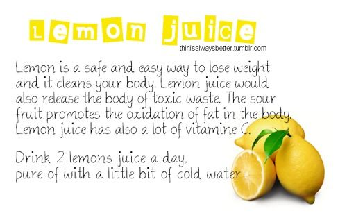 Is true lemon healthy