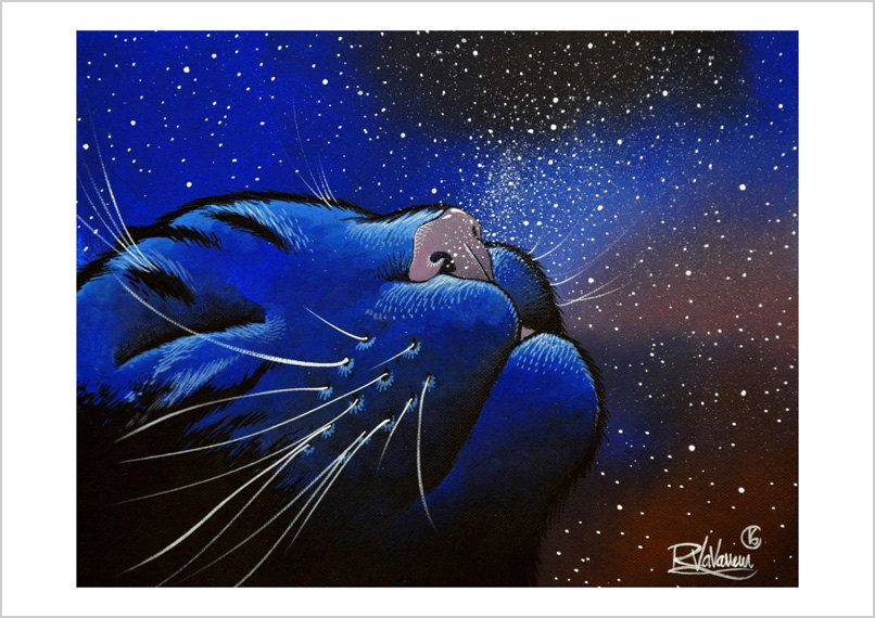 Smelling the Stars by French Artist Raphael Vavasseur ~