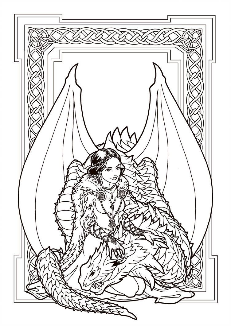 Baby Girl Dragon Coloring Page Dragon Coloring Page Coloring