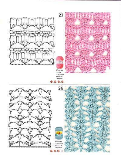 Crochet Knitting Handicraft: Tejer la moda 112