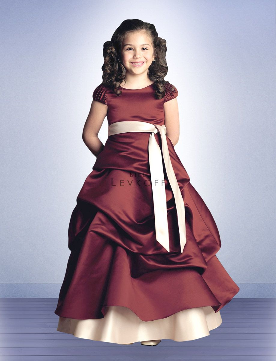 Bill levkoff junior bridesmaids and flower girls 62801 junior find this pin and more on junior bridesmaids flower girl dresses bill levkoff ombrellifo Images