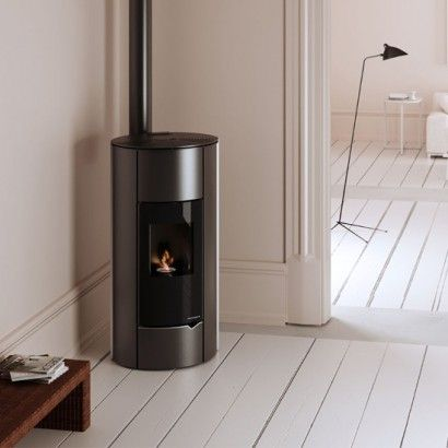 palazzetti pelletofen lola 9 kw pellet kamin ofen pellets studio pinterest stove fire. Black Bedroom Furniture Sets. Home Design Ideas