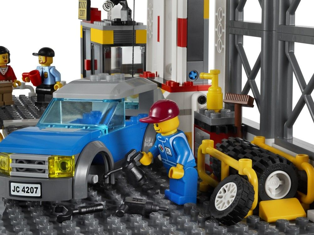Lego City Garage : Lego city city garage toy pixel