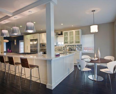 New Kitchen Layout With Island Columns Countertops 64 Ideas Kitchen Island Ideas With Columns Kitchen Columns Kitchen Layout