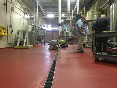Urethane Cement Food Plant Floor Coating Systems Are