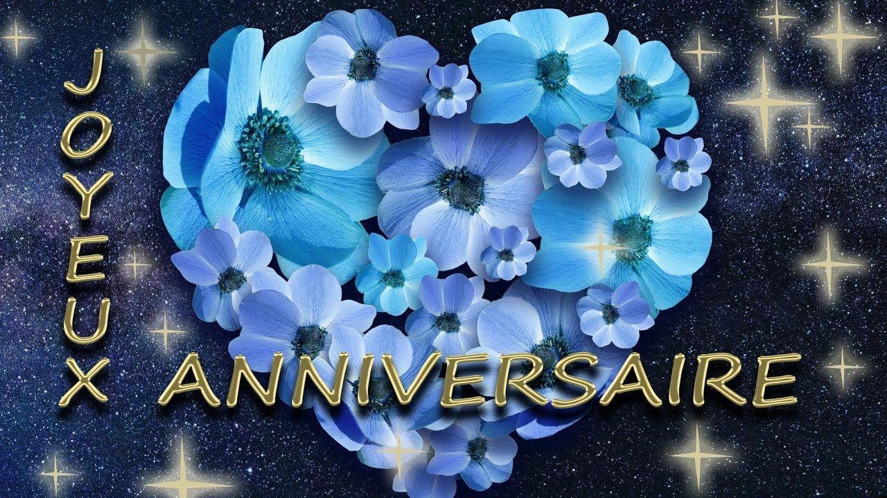 jolie carte anniversaire animée JOYEUX ANNIVERSAIRE   jolie carte virtuelle gratuite (avec images