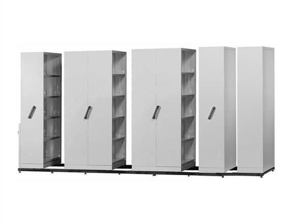 The MOBILE COMPACTOR/ Shelving Systems Eliminating Aisles