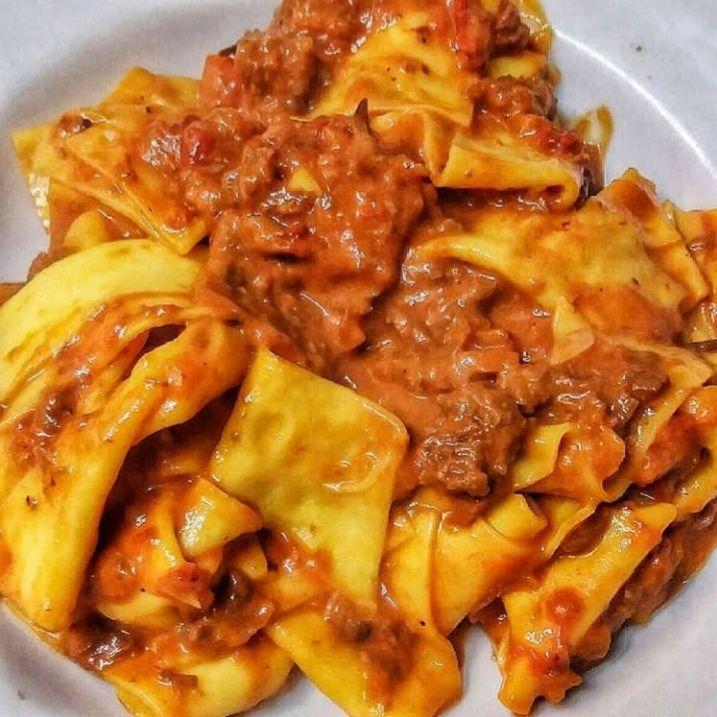 Ricetta Ragu Manzo.Maltagliati Al Ragu Di Manzo Le Ricette Di Esmeralda Ricette Cibo Italiano Idee Alimentari