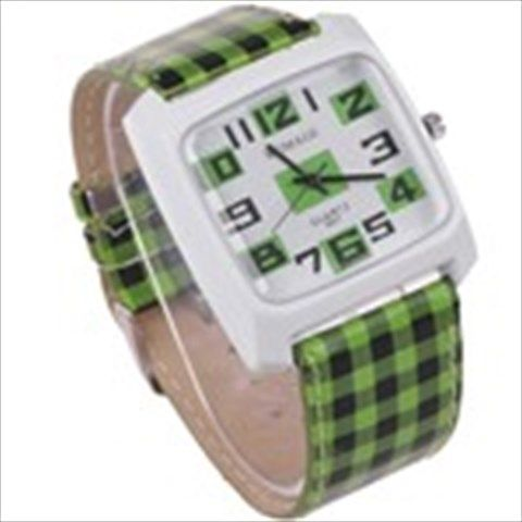 Мужская Chequered кварцевые наручные часы с Аллой Дело ...