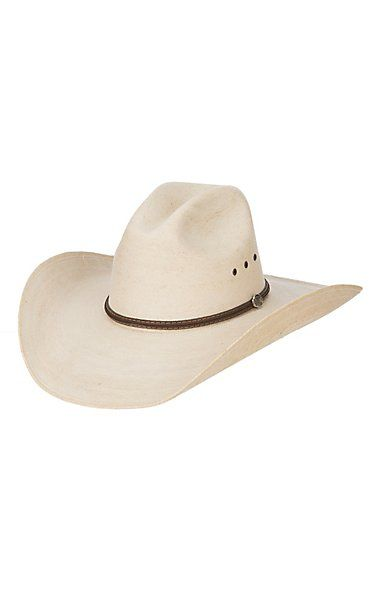 4aa925bdd Ranch Collection 20X Fine Palm Leaf Cowboy Hat in 2019 | Cowboy Hats ...