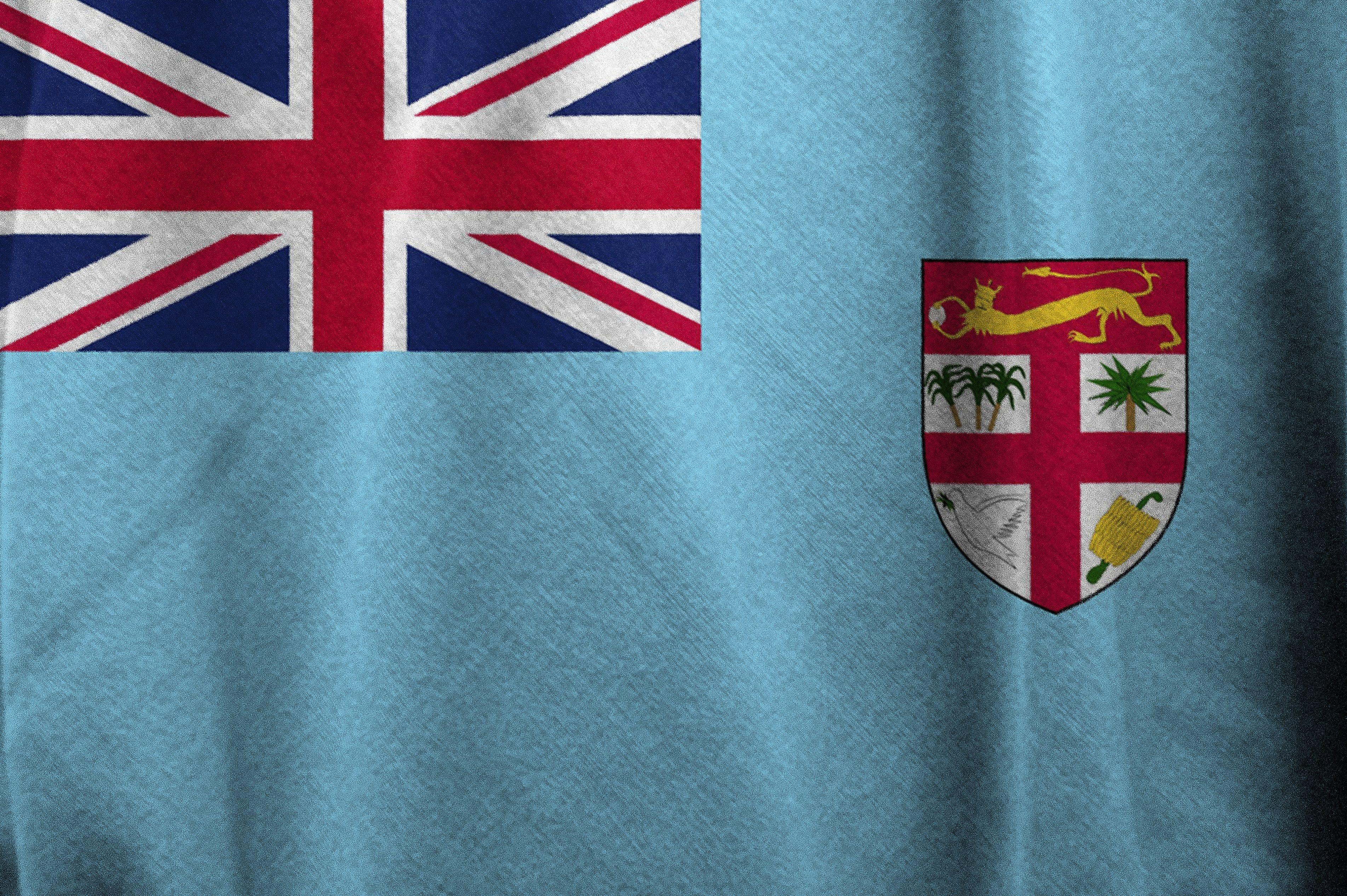 Bayrak Flag Fiji Highquality Pics Bayrak