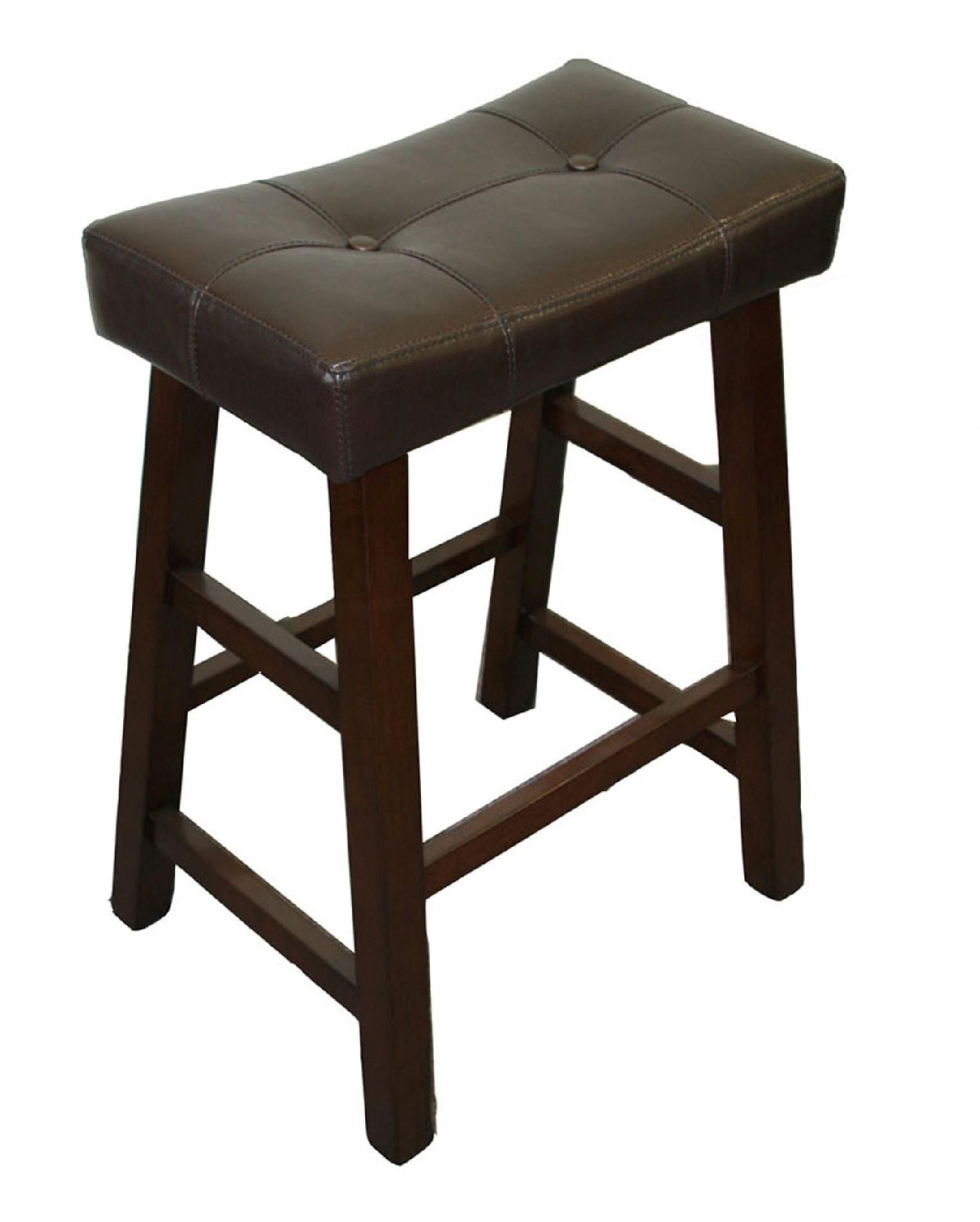 Tufted Saddle Counter Stool Is Just The Right Height Tufted Saddle