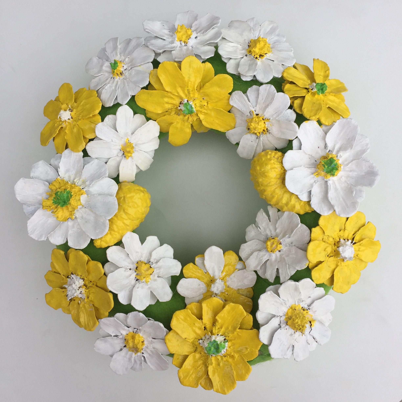 Photo of Daisy door wreath